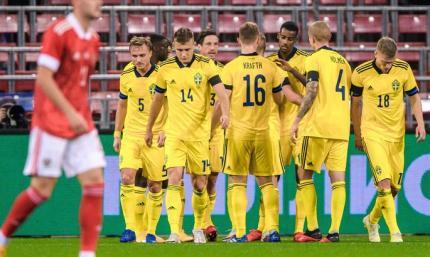 Швеция обыграла Россию в товарищеском поединке. Видео голов и обзор матча