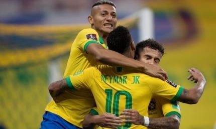 Бразилия стартует убедительно. ВИДЕО, как Неймар и компания разбили Боливию в отборе к ЧМ