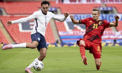 Великолепный второй тайм от трех львов. Лига наций. Англия – Бельгия 2:1