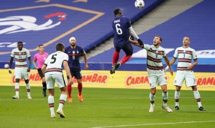 Франция - Португалия 0:0. Море борьбы и забытые ворота