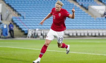 С хет-триком Холанда. Норвегия - Румыния 4:0. Видео обзор матча