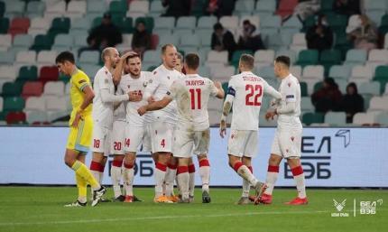 Лига наций. Беларусь обыграла Казахстан, Грузия без Хочолавы не удержала победу над Северной Македонией