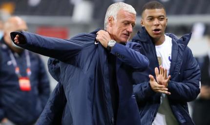 Дешам: Нельзя побеждать по щелчку пальцев только потому, что Франция – чемпион мира