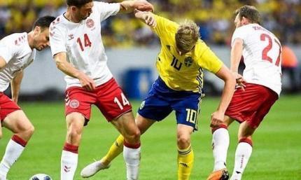 Товарищеский матч. Дания обыгрывает Швецию
