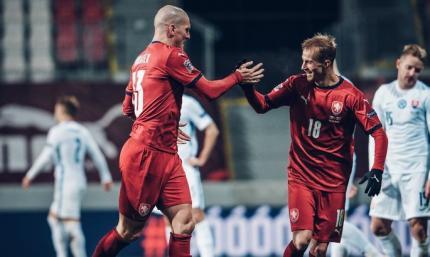 ЛН. Чехия шагает в дивизион А, Соломон забивает шотландцам