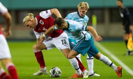Австрия - Норвегия 1:1. Резерв норвежцев едва не увез из Вены три очка