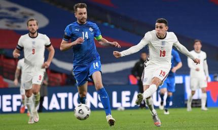 Англия - Исландия 4:0. Не заметили викингов