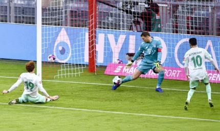 Бундеслига. Бавария не смогла выиграть у Вердера, Гладбах - у Аугсбурга