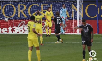 Куртуа иногда привозит. Вильярреал - Реал 1:1. Обзор матча и видео голов
