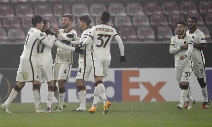 Фонсека выходит в плей-офф: Клуж - Рома 0:2. Видео голов и обзор матча