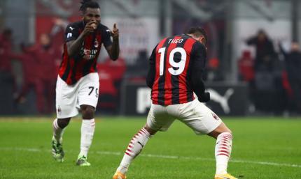 Три попадания в каркас не сломали характер. Милан - Парма 2:2. Видео голов и обзор матча