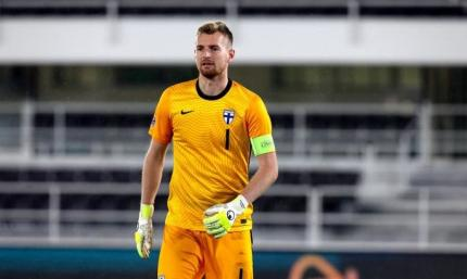 Голкипер сборной Финляндии: Украина - это более опасный соперник, чем принято считать