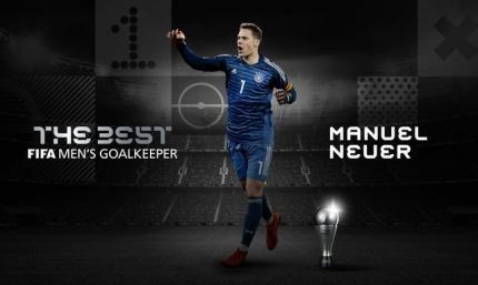 Мануэль Нойер - лучший вратарь года по версии ФИФА