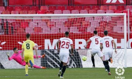 Явное преимущество. Севилья - Вильярреал 2:0. Обзор матча и видео голов
