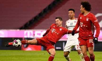 Бавария - первая, Лейпциг закрепился на втором месте. Таблица Бундеслиги 2020/21