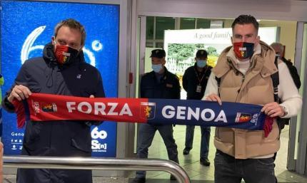 Стротман вернулся в Серию А, подписав контракт с одним из аутсайдеров