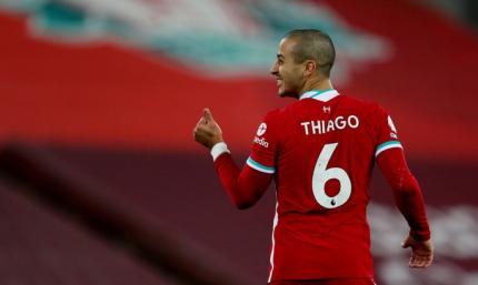 Тьяго Алькантара рассказал, почему после гола побежал в сторону скамейки запасных