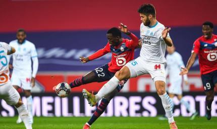 Лига 1. Лилль - Марсель 2:0. Фееричная, но справедливая концовка