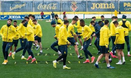 Вильярреал объявил план тренировок накануне матча с Динамо
