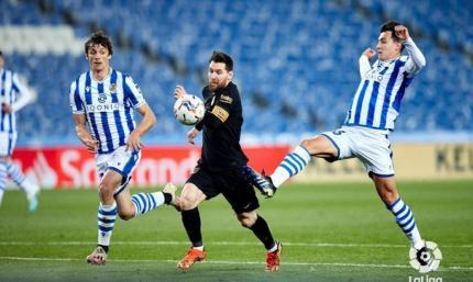 Курс на уничтожение. Реал Сосьедад - Барселона 1:6. Обзор матча и видео голов