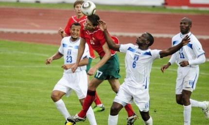 Смачный гол со штрафного в девятку. Беларусь - Гондурас 1:1. Обзор матча