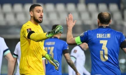 Отбор на ЧМ-2022. Италия - Северная Ирландия 2:0. Мощное начало, невнятное продолжение
