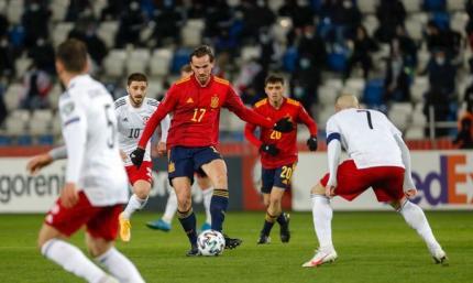 Отбор к ЧМ-2022. Грузия - Испания 1:2. Повторение плохого, но с другим результатом