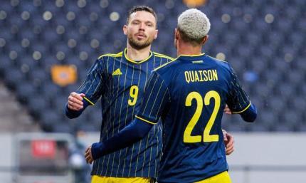 Когда Ващук - не в сборной Украины. Швеция - Эстония 1:0. Обзор матча, видео гола