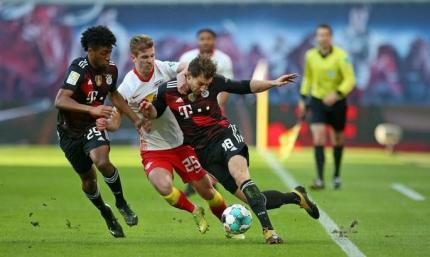 Бундеслига. Бавария снимает вопросы о чемпионстве, обыграв Лейпциг