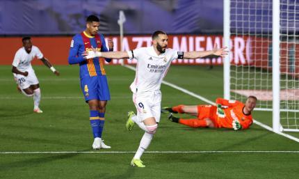 Прімера. Реал - Барселона 2:1. Це не дощ, а сльози каталонців