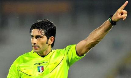 Арбитр в Италии не будет судить матчи Милана