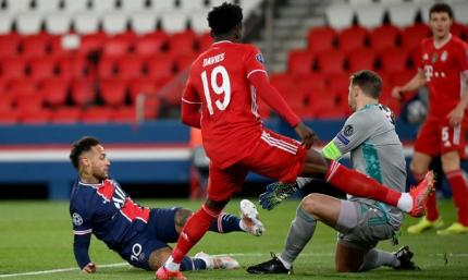 ПСЖ – Бавария 0:1. Видео гола и обзор матча