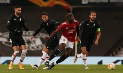 Лига Европы. Манчестер Юнайтед - Гранада 2:0. Пакт о ненападении, или на эконом-режиме