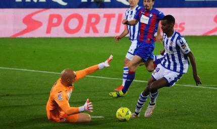 Примера. Эйбар - Реал Сосьедад 0:1. Шансов выжить становится все меньше