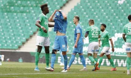 Лига 1. Сент-Этьен шокировал Марсель
