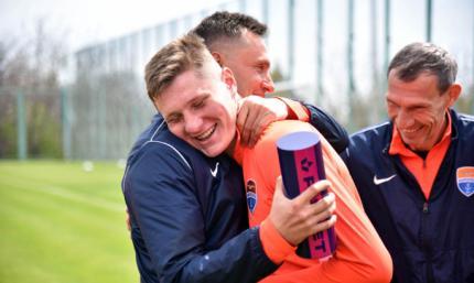 Бондаренко второй раз подряд признан лучшим игроком месяца в Мариуполе
