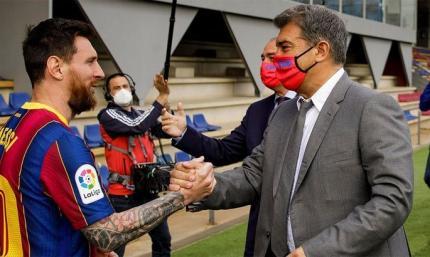 Лионель Месси ответил согласием на предложение президента Барселоны
