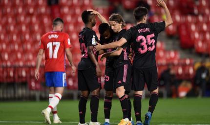 Примера. Гранада - Реал 1:4. Сливочные остаются в гонке за титул
