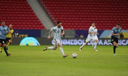 Месси против Суареса. Аргентина минимально победила Уругвай на Копа Америка