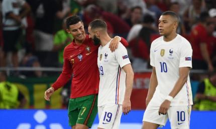 Португалия - Франция 2:2. Видео голов и обзор матча