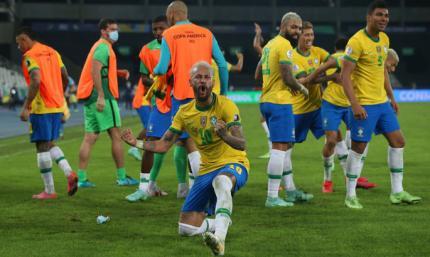 Копа Амеріка. Колумбія забиває бісиклетою, але Бразилія виграє на 90+10-й хвилині – ВІДЕО