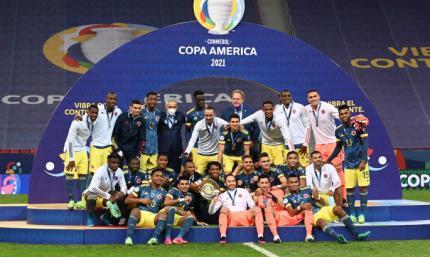Колумбия выиграла бронзу Копа Америка
