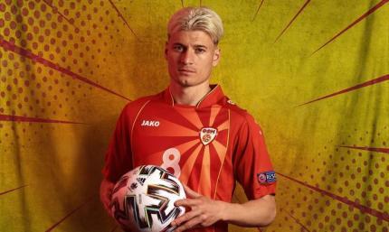 Один из лидеров сборной Северной Македонии отказался переходить в Россию