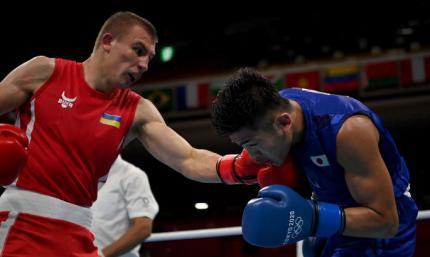 Український боксер Хижняк успішно стартував на Олімпіаді, розгромивши японця