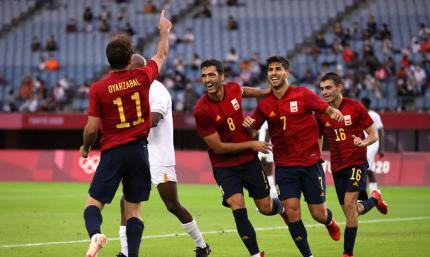Олімпіада. Неймовірний камбек Іспанії, скромна перемога Бразилії і гольова феєрія Мексики