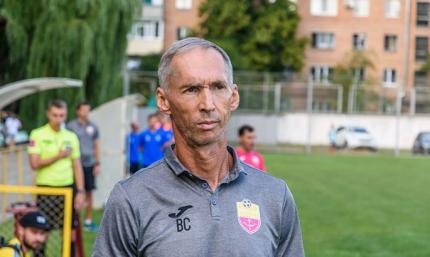 Владимир Сисенко - лучший тренер второго тура Второй лиги