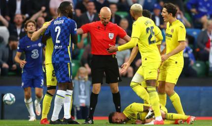 Челси –Вильярреал 1:1 (пен 6:5). Кепа снял проклятие синих в Суперкубке УЕФА