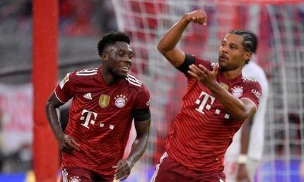 Бундеслига. Бавария –Кёльн 3:2. Дубль Гнабри принёс победу чемпиону