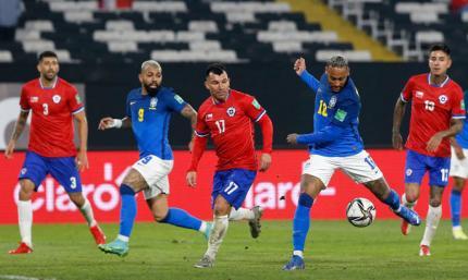 Отбор к ЧМ-2022: Бразилия дает 100%, Рамирес из Динамо проигрывает Аргентине, серия Уругвая