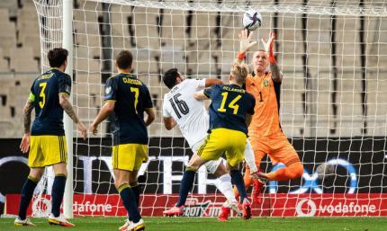 Греция - Швеция 2:1. Шок для скандинавов